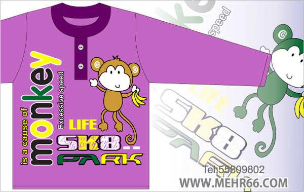 ع تی برای طراحی طرح تی شرت دخترانه دختر کارتونی